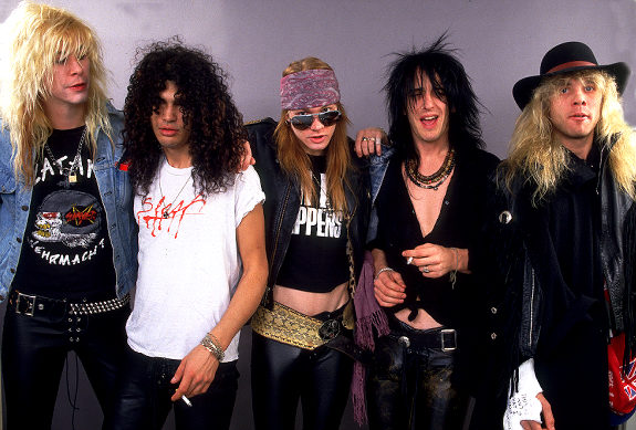 Guns N' Roses Hall Of Fame Induction…