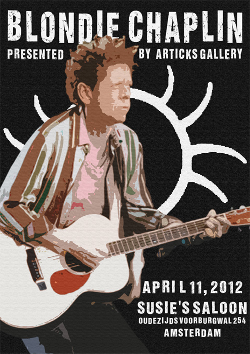 ArTicks Gallery presents Blondie Chaplin Live!