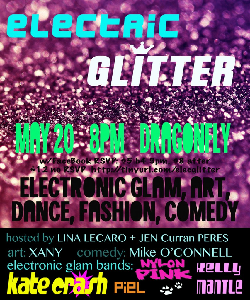 ELECTRIC GLITTER IN L.A.!