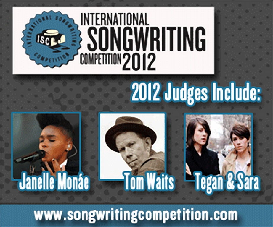 MUSIC ICONS TO JUDGE 2012 INTERNATIONAL SONGWRITING COMPETITION (ISC)