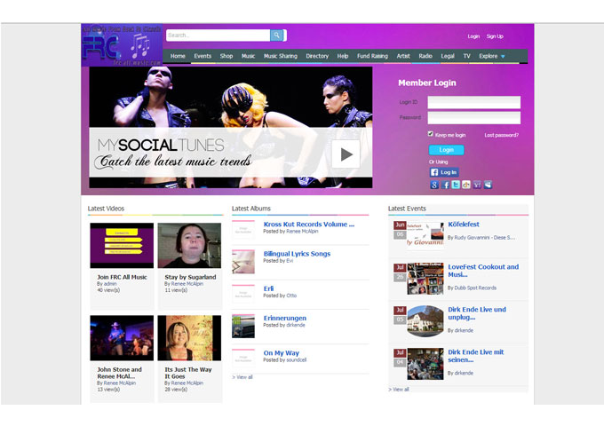 Frc-All-Music.com – Social Networking For Musicians!