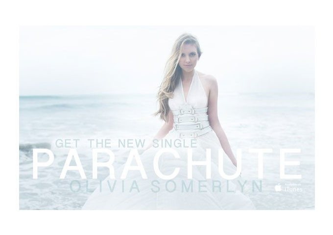 """Olivia Somerlyn: """"Parachute""""is Driven Solely by Voice, a Tight Beat, and Light Piano-synth Tones"""