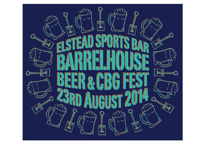 Elstead Barrelhouse Beer & Cigar Box Guitar Festival – 23rd August 2014