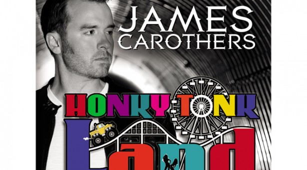 Country Traditionalist JAMES CAROTHERS' Latest CD,   HONKY TONK LAND, Available Now