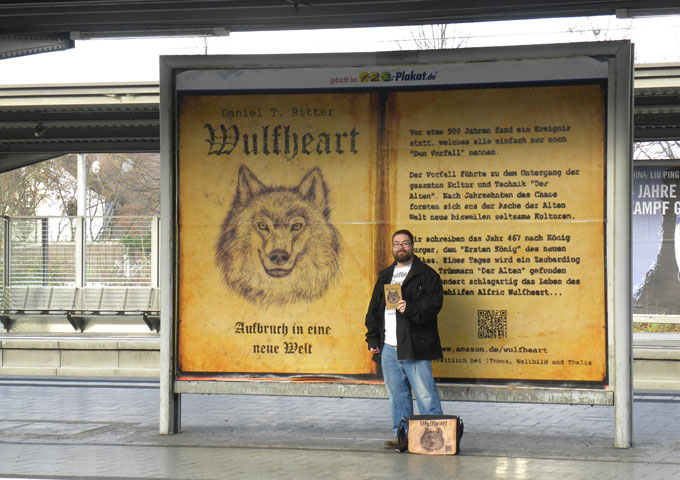 "Daniel T. Ritter: ""Wulfheart"" – At times tranquil and spiritual, at others excited and uplifting"