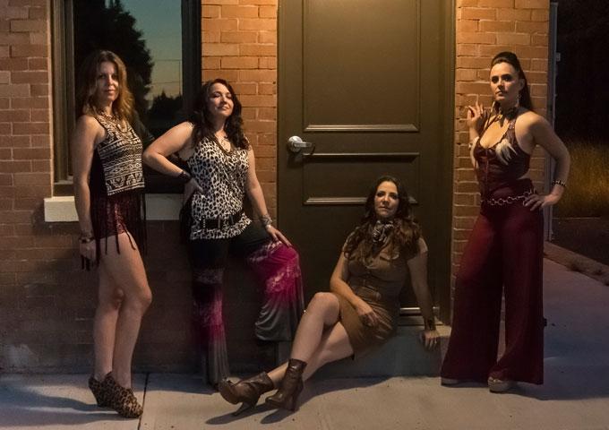Sax Quartet The Quadraphonnes 'Get the Funk Out!' on Latest Album