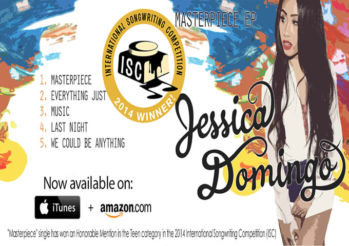 """Jessica Domingo: """"Masterpiece"""" – has been recorded with multi-platinum Grammy award-winning producer Mikal Blue"""