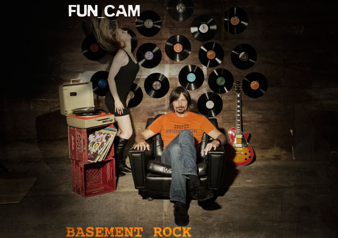 """Fun Cam: """"Basement Rock""""  manufactures some absolutely hair-raising sounds!"""