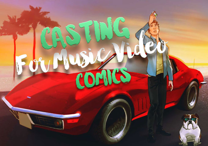 "Casting still open for ""Magic Pills"" animated comic strip video!"