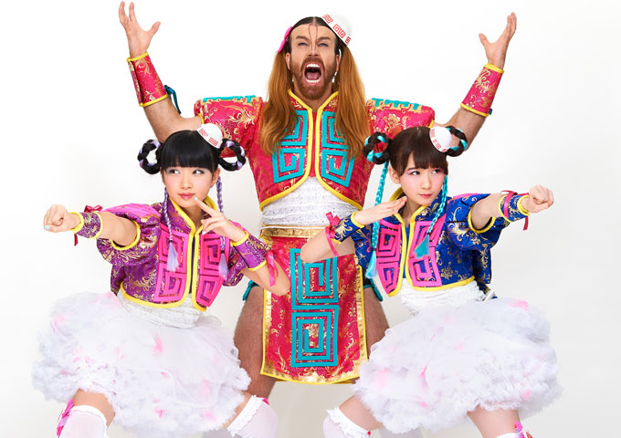 LADYBABY: A manic J-Pop direction injected with jaw-dropping, metal time signatures!