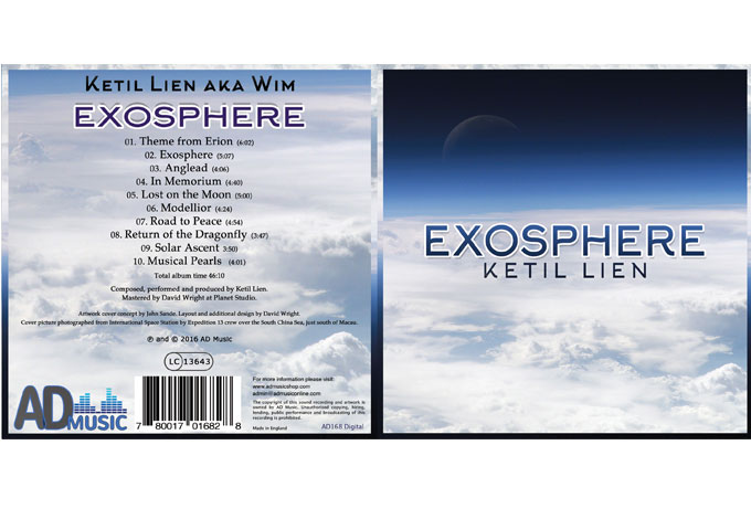 Ketil Lien: 'Exosphere' – From electronic to symphonic and everything in between!