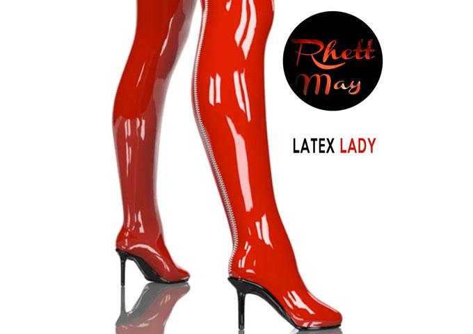 Hot Video Release 'Latex Lady' New Single by Grammy Award Nominee Rhett May