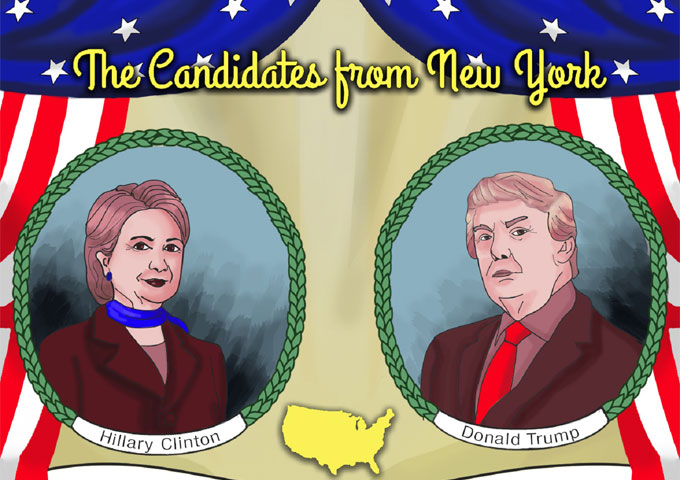 """American Pioneer Singers: """"The Candidates from New York"""" – campaign songs reloaded!"""