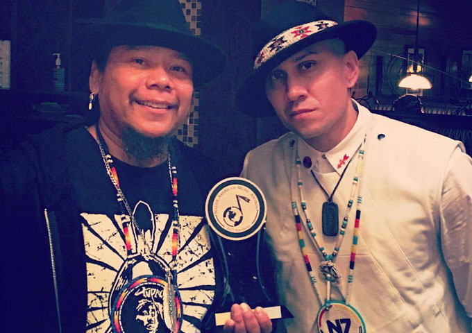 "Blue Flamez: ""Rez Life"" wins 'BEST VIDEO' at the NAMMY Awards!"