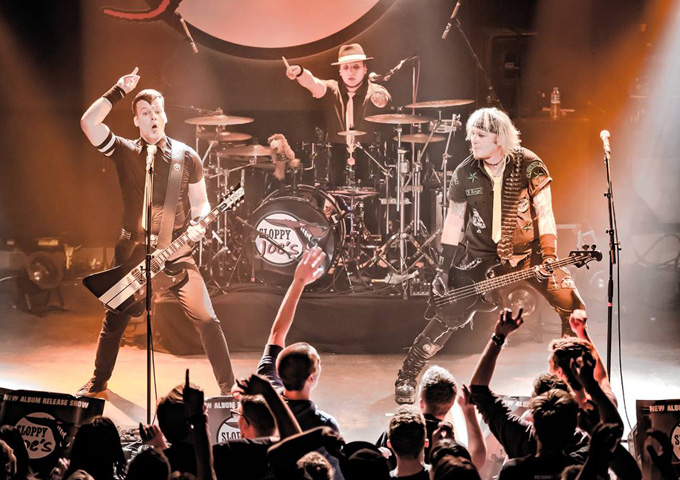 """Sloppy Joe's: """"Eight Reasons To Rock"""" is able to kick up a head-banging fuss"""