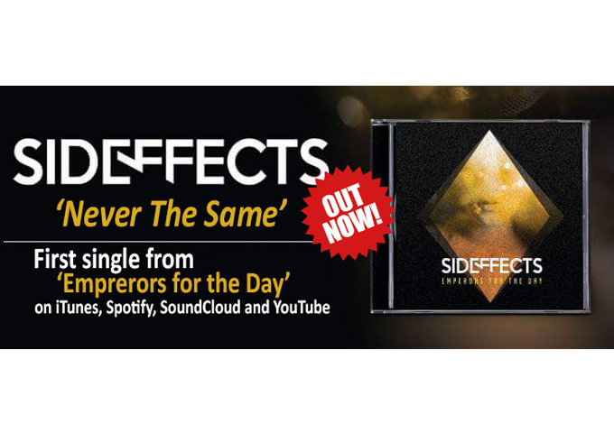 """Sideffects: """"Never The Same"""" – a fresh slate on which to write their story"""