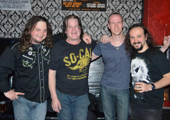 THE NATIONAL EVENING EXPRESS – titanic hard rock mega-jams