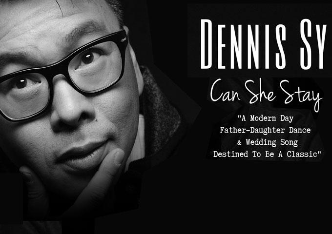 """Dennis Sy: """"Can She Stay"""" blends heartfelt lyrics seamlessly into a captivating soundscape"""