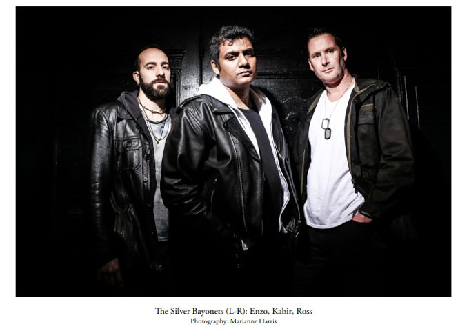 """The Silver Bayonets: """"BRAVEFACE"""" – fantastic Adrenalin pacing of the album"""