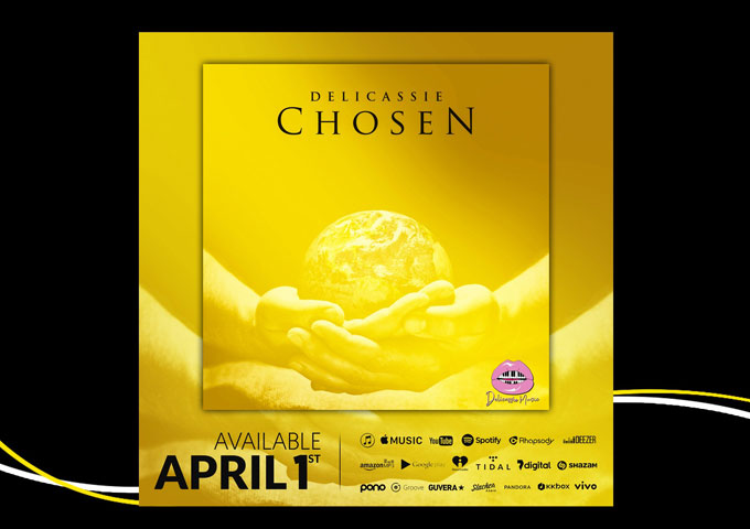 """Revolutionary artist 'Delicassie' announced the release of her latest single """"Chosen"""""""