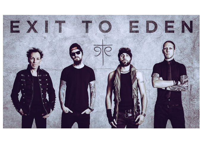 """Exit To Eden: Describes the extreme situation of hate-love, on their new Goth 'n Roll single """"Love At First Hate""""!"""