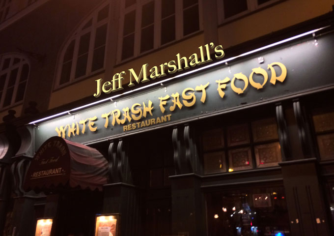 """Jeff Marshall – """"White Trash Fast Food Restaurant"""" – a truckload of passion!"""