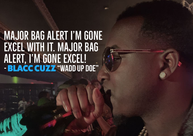 "DREAM BIG EMPIRE presents Blacc Cuzz – ""Wadd Up Doe"" – outbursts of authenticity and real Hip-Hop"