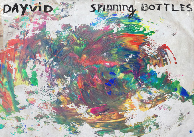 Pop singer & songwriter DAYVID releases new single 'Spinning Bottles'