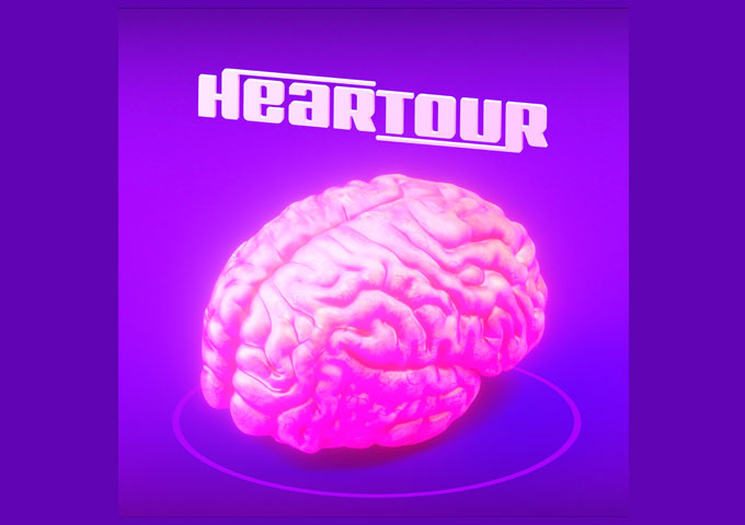 """Heartour Releases The Single, """"Brain"""", from The Upcoming Album R U IN"""