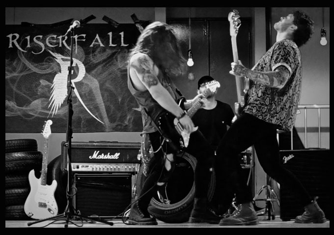 "Alternative Rock band RISERFALL – The Official Video for ""Undone"""