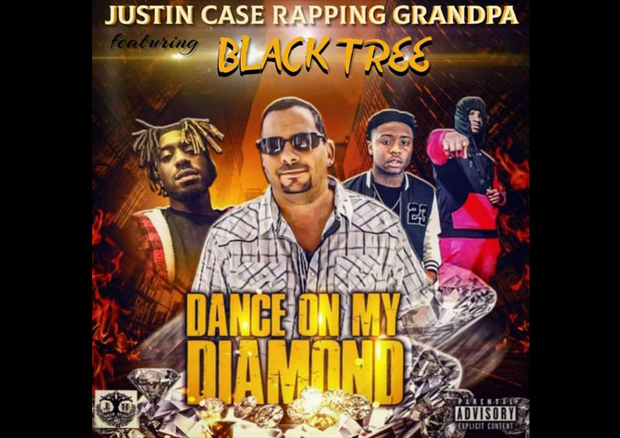 """Justin Case Rapping Grandpa – """"Dance on my Diamond"""" ft. Blacktree – precisely attuned to the rapper's strengths"""