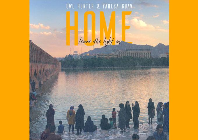 "Owl Hunter & Yahesa Guav – ""Home (Leave the Light On)"" has a vintage analogue-like roundness to it"