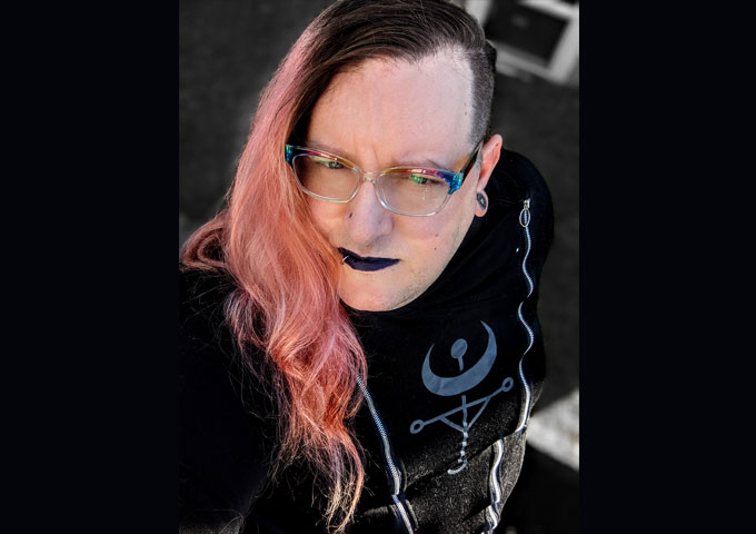 """Ember Mikayla – """"Dissociative Anarchist"""" – a reminder of the rebellious spirit rock and roll!"""