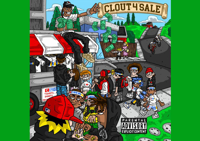 """Nova Grizzy – """"CLOUT 4 SALE"""" is his 8th Studio Project"""