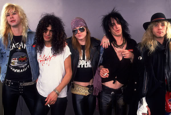 Gun's N' Roses Snubbed at Reading!