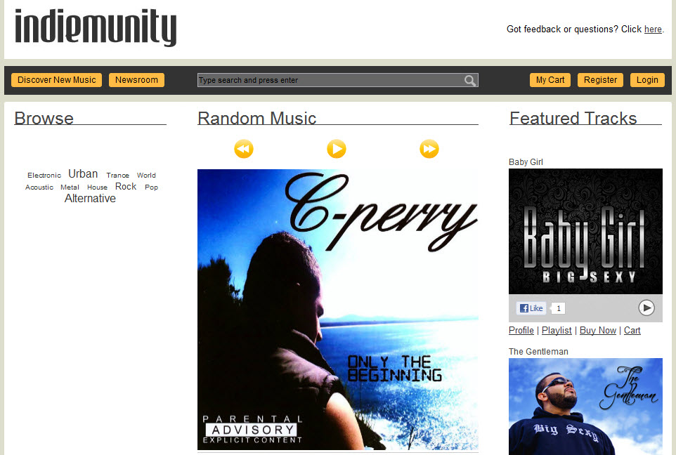INDIEMUNITY.COM: Music Store And Platform For Artist Promotion