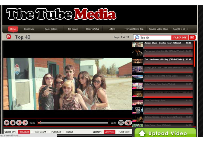 The Tube Media: Wholly Dedicated To Music!