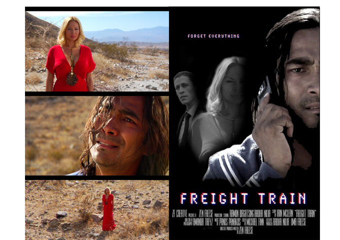 """Radhaa Nilia Productions Worldwide Premiere for """"Freight Train"""" at Indie Fest International Film"""