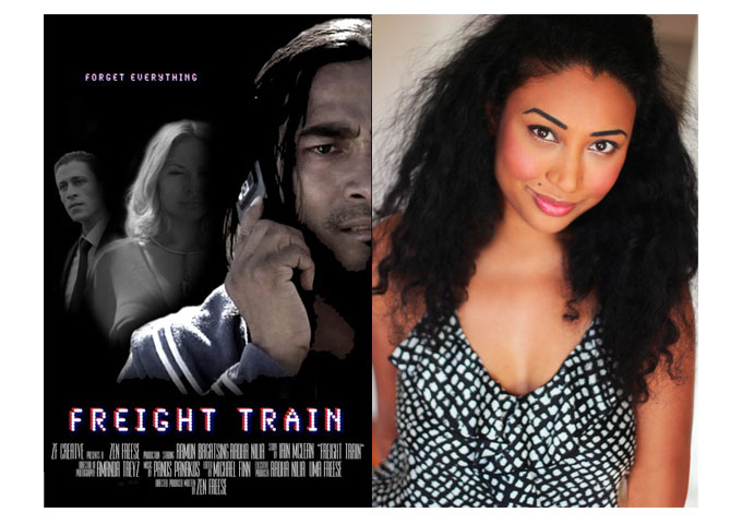 Meet Producer Ayvee Verzonilla at the Worldwide Premiere of 'Freight Train' at Indie Film Fest