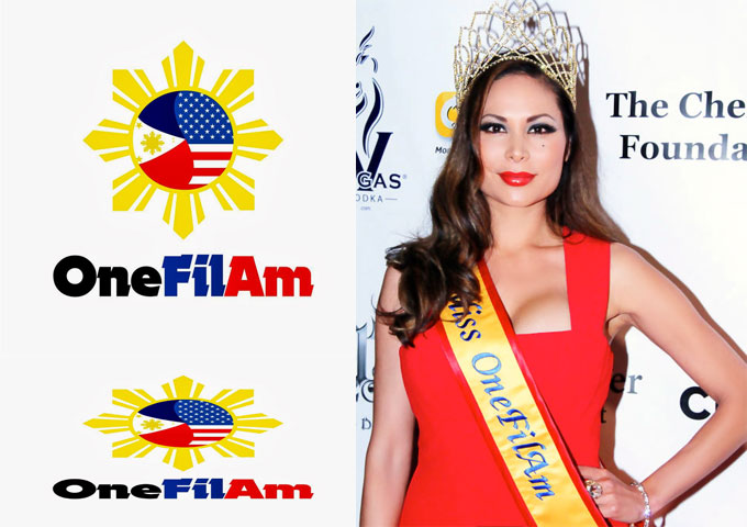 Radhaa Nilia crowned Miss OneFilAm at the OneFilAm Film Festival in Hollywood, CA.