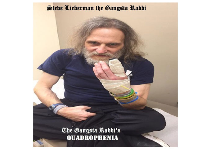 "Steve Lieberman: ""The Gangsta Rabbi's Quadrophenia"" – completes a story of a sound that has made its way through history"