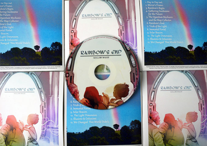 """Hollow Water: """"Rainbow's End"""" – For fans of progressive rock who appreciate stellar musicianship and production"""