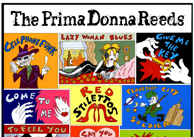 """The PrimaDonna Reeds: """"Red Stilettos"""" – from the symbolic to the intentionally bizarre"""