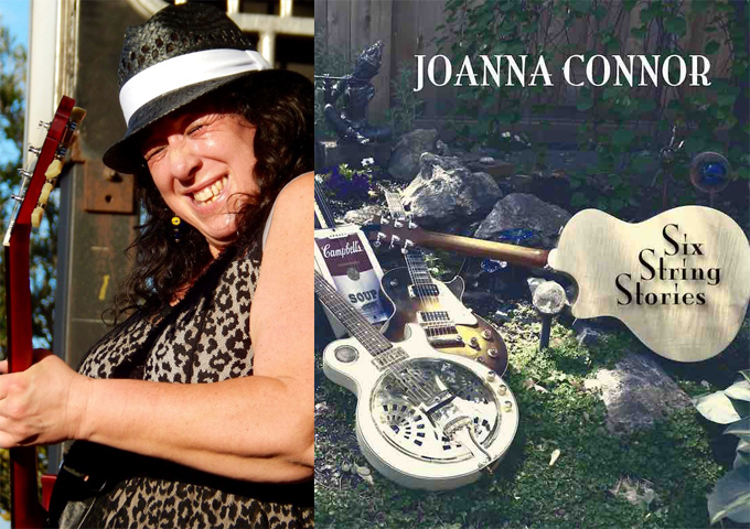 Six String Stories By Internet Blues Sensation  Joanna Connor Coming Aug. 26