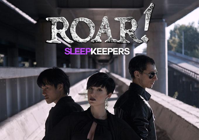 "Sleep Keepers: ""ROAR!"" – the sound becomes rock art!"