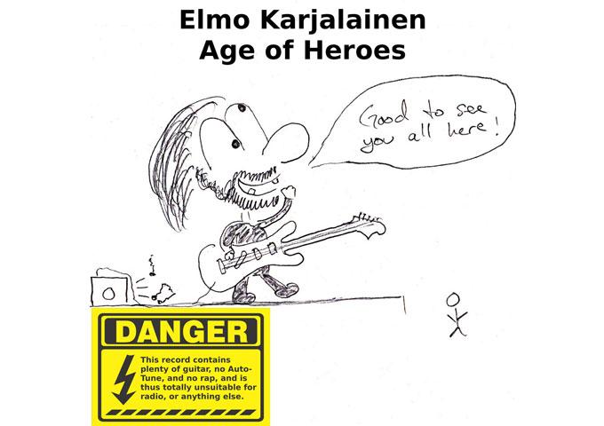 Elmo Karjalainen: 'Age Of Heroes' is full of diversity