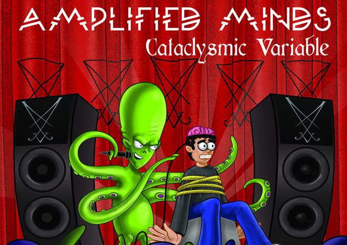 """The Cataclysmic Variable: """"Amplified Minds"""" has a sci-fi theme and begins with an invasion…"""