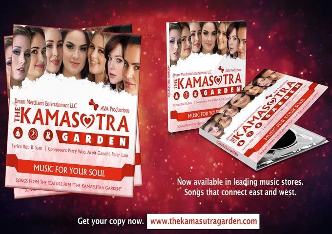 "Dream Merchants Entertainment Presents the soundtrack of the feature film, ""The Kamasutra Garden"""