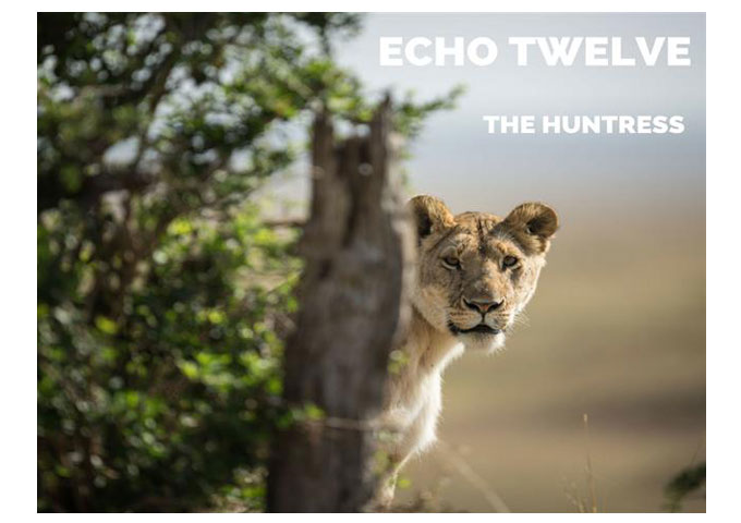 """Echo Twelve: """"The Huntress"""" ft. Eileen Jaime – a certifiable underground game-changer"""