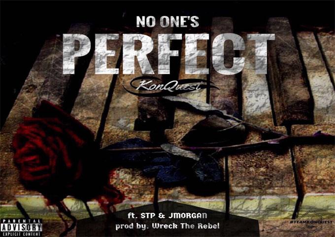 "KonQuestNow: ""NOP (No One's Perfect)"" ft. STP & J.Morgan – an assemblage of uncanny language"